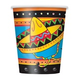 Fiestivity 9 oz Cups, 8/pkg