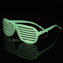 Slotted Glow Sunglasses