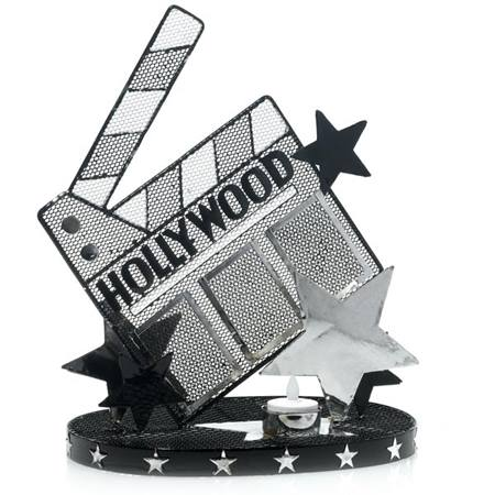 Hollywood Clapboard Wire Centerpieces