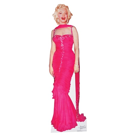 Marilyn Monroe in Pink Life-size Stand Up