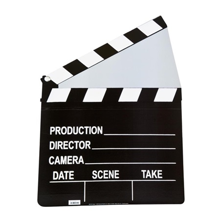 Hollywood Clapboard Stand-Up