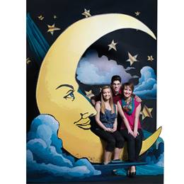 Old Hollywood Moon Photo Op