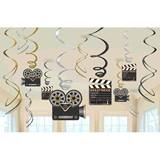 Lights, Camera, Action, Swirl Value Pack Decorations
