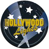 Hollywood Lights Luncheon Plates