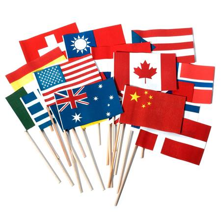 Display/Parade Flags 12 in x 18 in - 6 per pkg