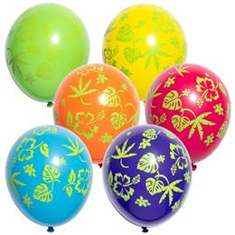 Flora Tropical Latex Balloons