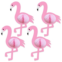 Tissue Flamingos Decorations