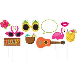 Luau Decor Photo Props