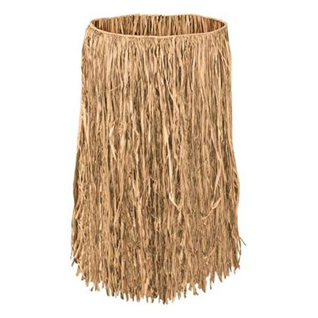 Adult Brown Raffia Hula Skirt