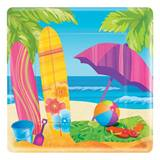 Surf's Up Banquet Plates