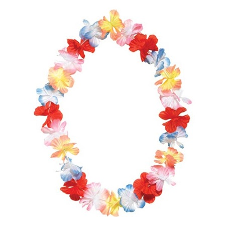 Poly Flower Leis