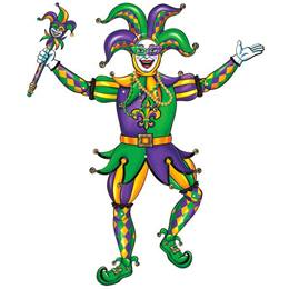 Jointed Jester Cutout