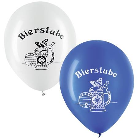 Bierstube Latex Balloons