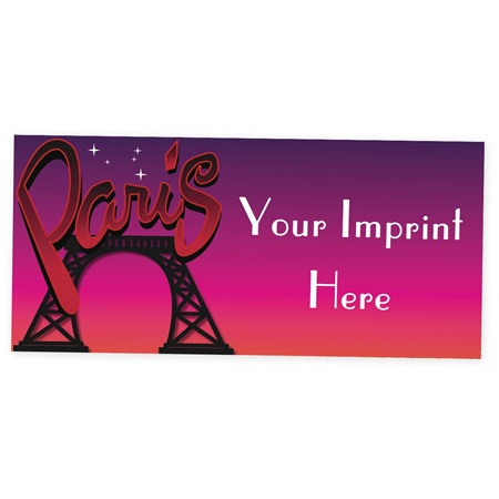 Postcard From Paris Custom Banner