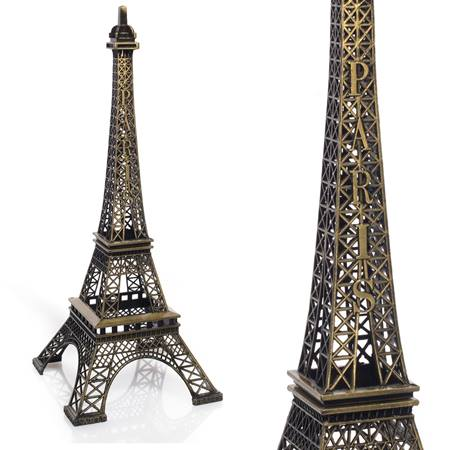 Eiffel Tower Centerpiece - Gold