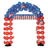 Patriotic Arch Balloon Kit
