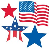 Patriotic Cutout Mega Value Pack