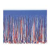 Red, White and Blue Fringe Drape