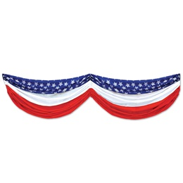 Stars and Stripes Patriotic Fabric Bunting