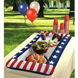 Patriotic Buffet Inflatable Cooler