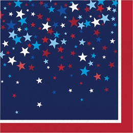 Patriotic Pride Luncheon Napkins