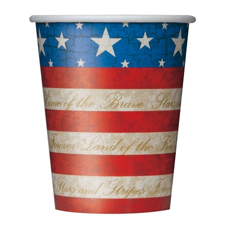 USA Party Hot/Cold Cups