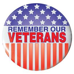 Remember Our Veterans Button