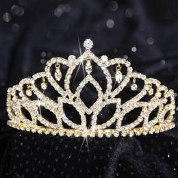 Gold Mirabella Tiara, 2 7/8 High""