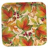Rich Foliage Dinner Plates