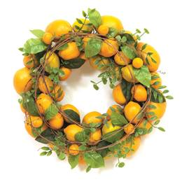 Spring Lemon Wreath