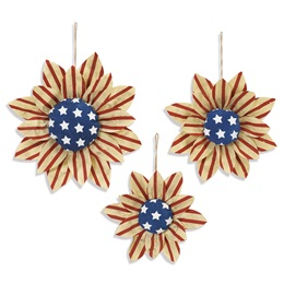 Hanging Americana Sunflower Set