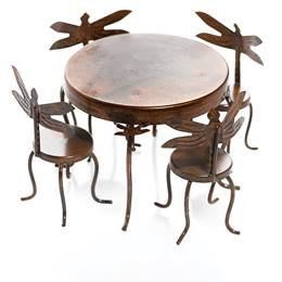 Miniature Dragonfly Dining Set