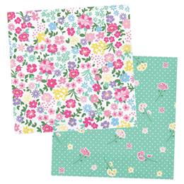 Floral Tea Party Luncheon Napkins