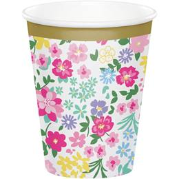 Floral Tea Party Hot/Cold Cups