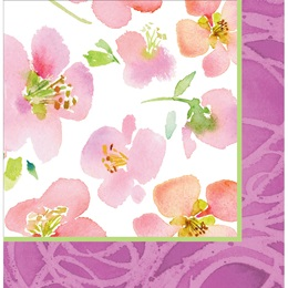 Warm Flora Luncheon Napkins