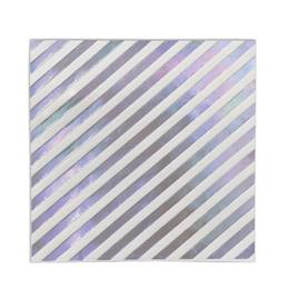 Iridescent Stripes Beverage Napkins