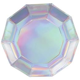 Iridescent Decagon Plate