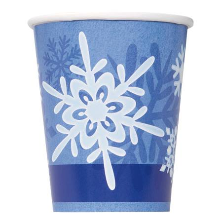 Winter Snowflake Cups