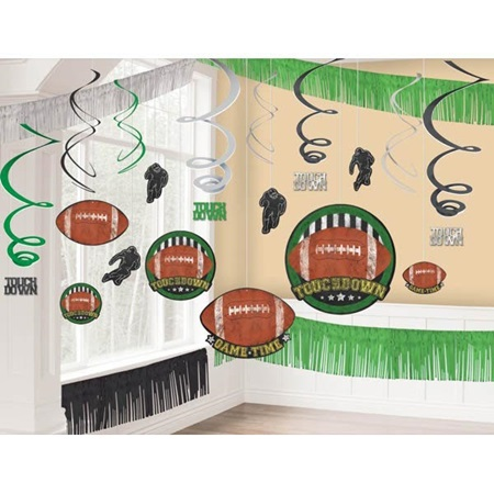 Football Giant Room Decorating Kit