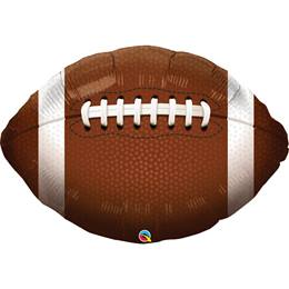 Metallic Football Balloon, 36""
