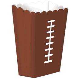 Football Snack Boxes, 8/pkg