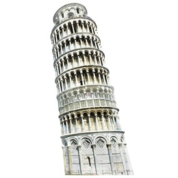 Leaning Tower of Pisa Stand-Up