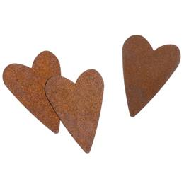 Rusty Heart Embellishments