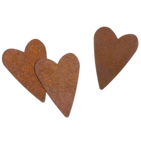 Rusty Heart Embellishments M N Party Store