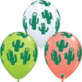 Assorted Cactus Latex Balloon Pack