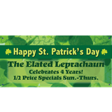 Personalized Banners - St. Patrick's Day