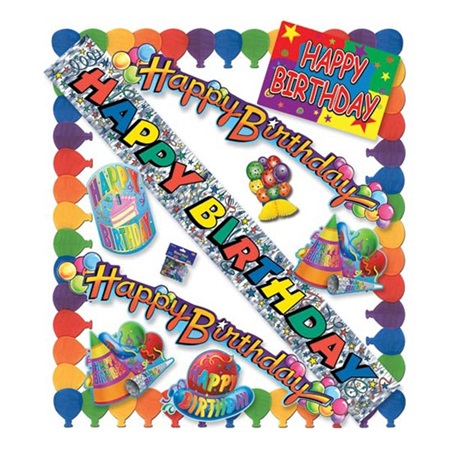 Birthday Party Decorating Kit
