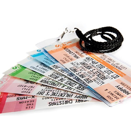 event ticket invitations m n party store