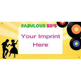 Personalized Banners - Fabulous 50's