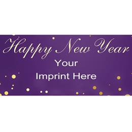 Personalized Banners - Happy New Year Celebration